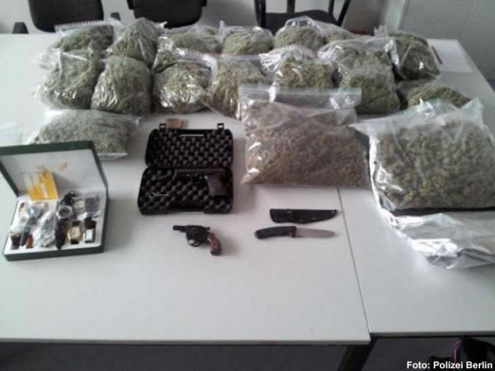 Zehn Kilogramm Marihuana
