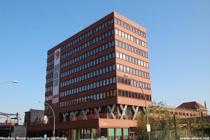 Neubau der Rosa-Luxemburg-Stiftung am Berliner Ostbahnhof