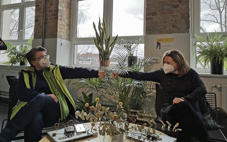 Monika Herrmann und Clara Herrmann