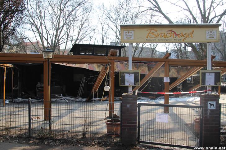 "Restaurant ""Brachvogel"" abgebrannt"