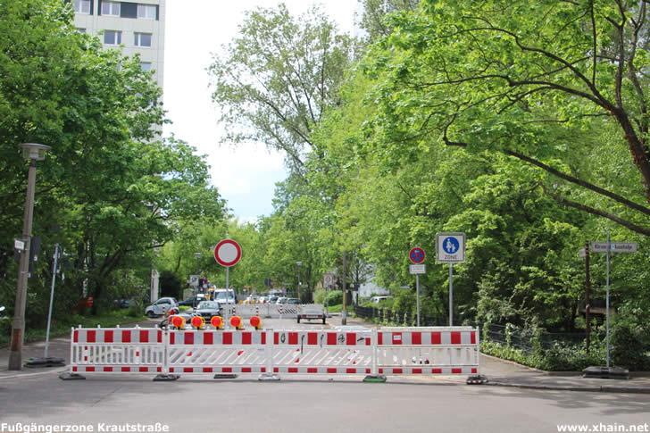 Fußgängerzone in der Krautstraße