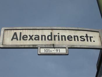 Alexandrinenstraße