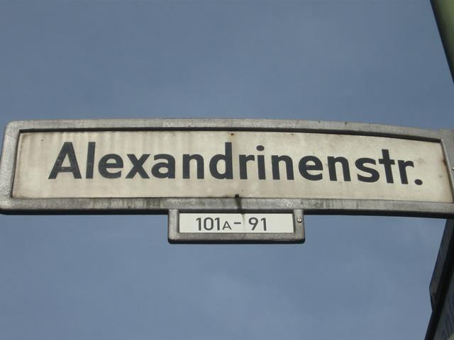Tötungsdelikt in der Alexandrinenstraße: Tatverdächtiger festgenommen