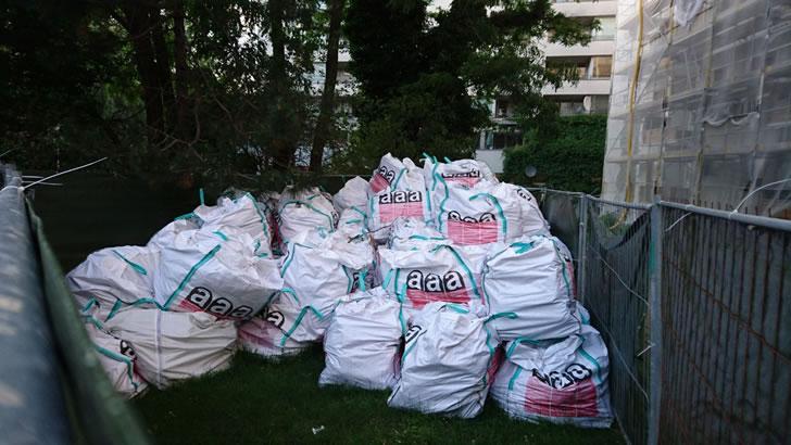 Ungesicherte Asbest-Lagerung in der Kreuzberger Otto-Suhr Siedlung?