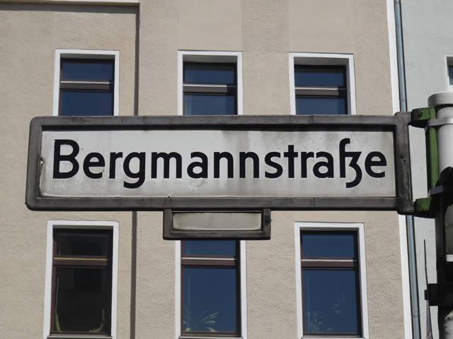 Begegnungszone Bergmannstraße startet mit Probelauf