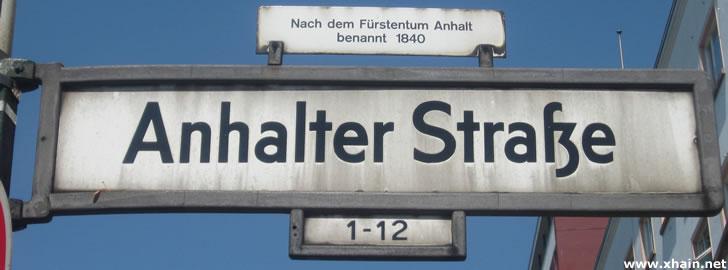 Anhalter Straße