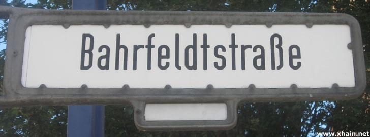 Bahrfeldtstraße