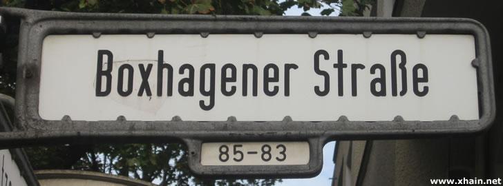 Boxhagener Straße