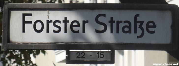 Forster Straße