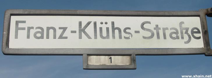 Franz-Klühs-Straße