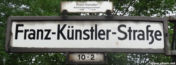 Franz-Künstler-Straße