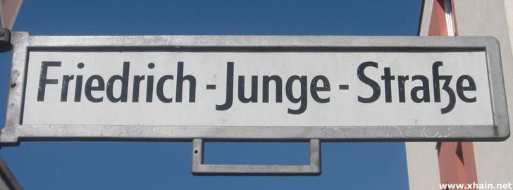 Friedrich-Junge-Straße