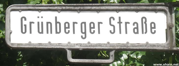 Grünberger Straße