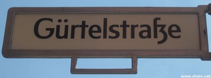 Gürtelstraße