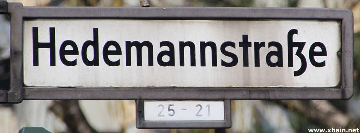 Hedemannstraße