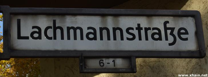 Lachmannstraße