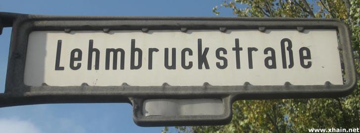 Lehmbruckstraße