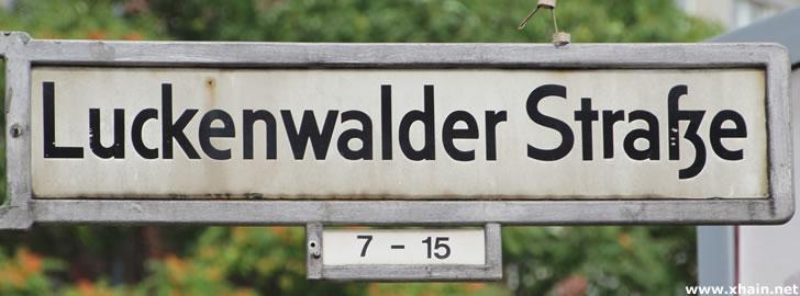 Luckenwalder Straße