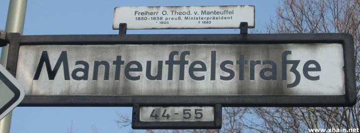 Manteuffelstraße