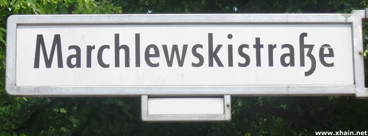 Marchlewskistraße