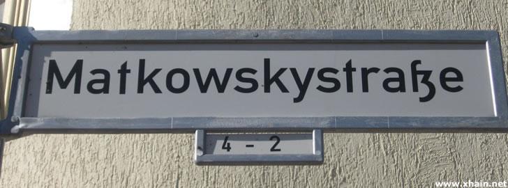 Matkowskystraße