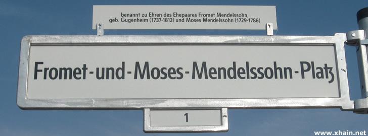 Fromet-und-Moses-Mendelssohn-Platz