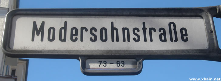 Modersohnstraße