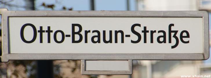 Otto-Braun-Straße