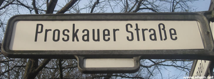 Proskauer Straße