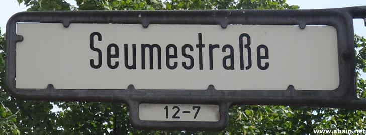 Seumestraße