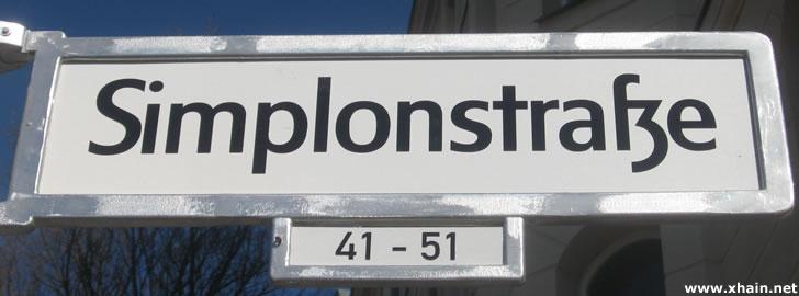 Simplonstraße