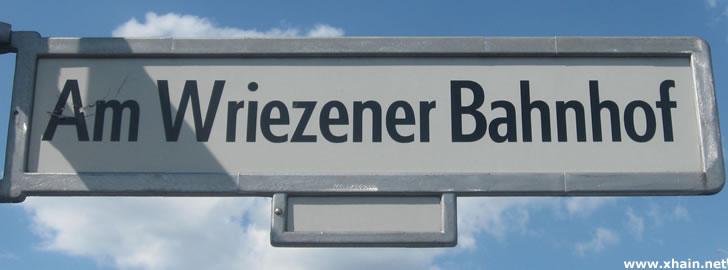 Am Wriezener Bahnhof