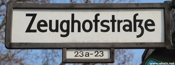 Zeughofstraße