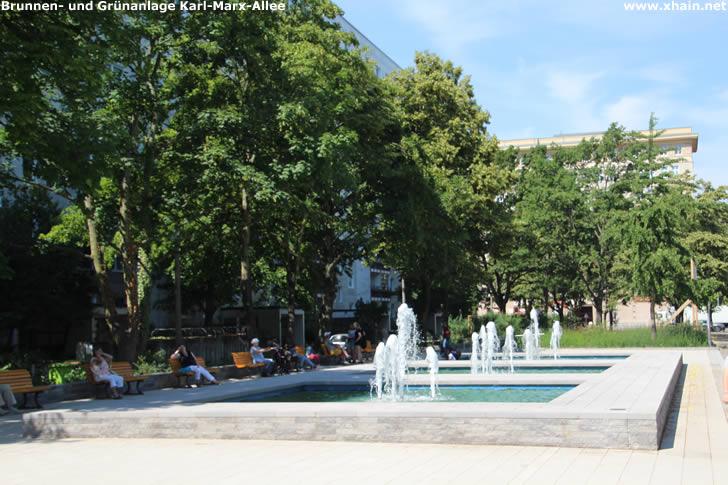 Brunnen- und Grünanlage Karl-Marx-Allee