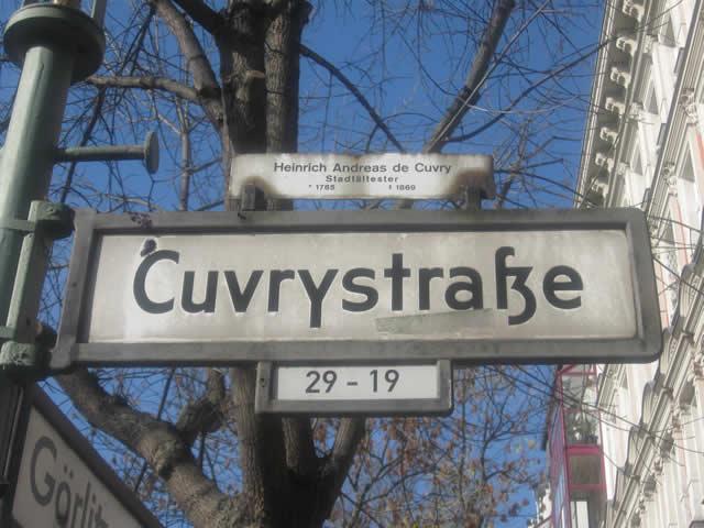 Kreuzberg: Autodieb in der Cuvrystraße festgenommen