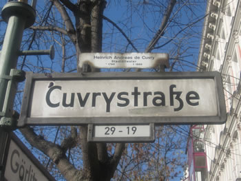 Cuvrystraße