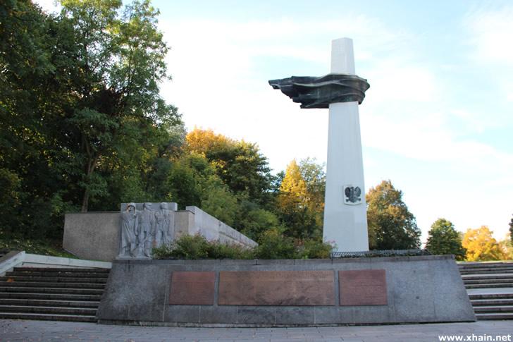 Denkmal des polnischen Soldaten im Volkspark Friedrichshain