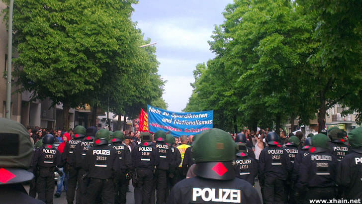 Revolutionäre 1. Mai-Demo 2014 - Berlin-Kreuzberg