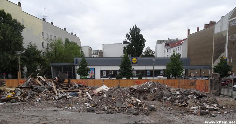 Informationsveranstaltung zu den Bauprojekten in der Rigaer Straße