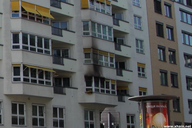 Kreuzberg: Randalierer zündet Wohnung an