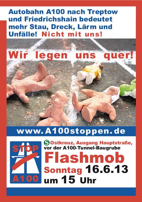 Flashmob A100 - Ostkreuz