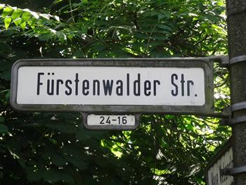 Fürstenwalder Straße