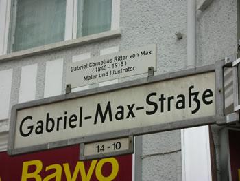 Gabriel-Max-Straße
