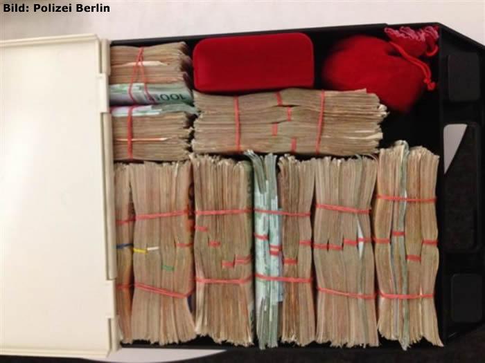 230.000 Euro im Schließfach