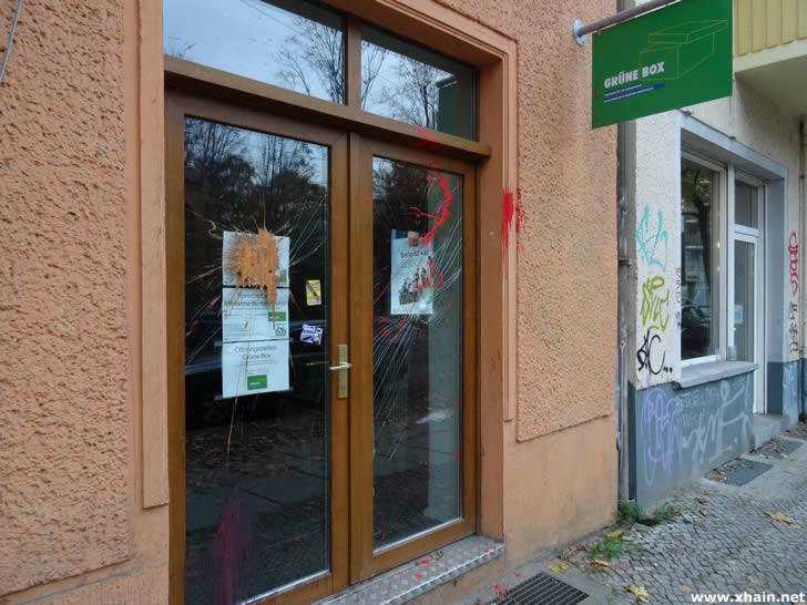 """Wahlkreisbüro """"Grüne Box"""""""