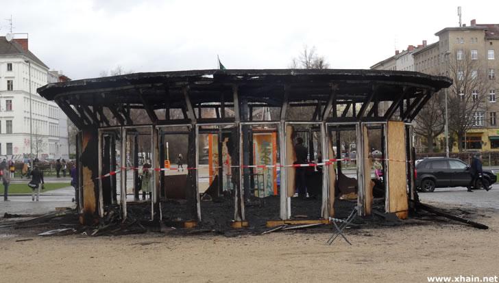 """Brandanschlag auf """"Haus der 28 Türen"""""""