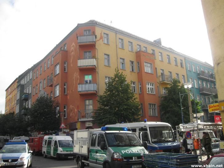 Hausdurchsuchung Rigaer Straße