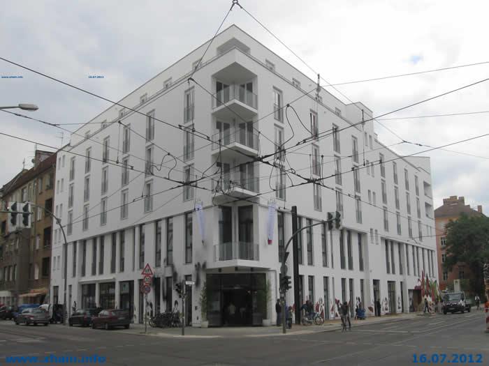 Hotel Boxhagener Straße Ecke Holteistraße