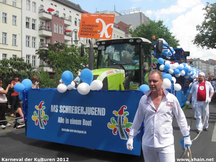 Karneval der Kulturen 2012: Deutsche Schreberjugend