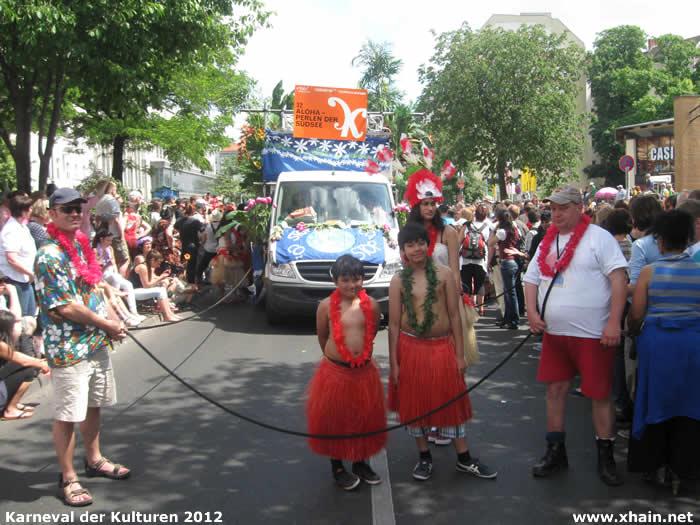Karneval der Kulturen 2012: Aloha - Perlen der Südsee